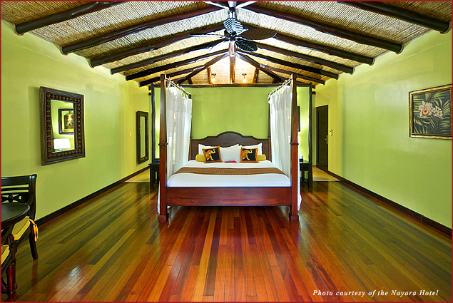 The deluxe casita at the Nayara Hotel, Spa, and Gardens in Costa Rica offers a romantic getaway