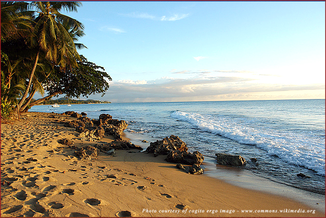 This is one of many secluded and romantic beaches in Puerto Rico