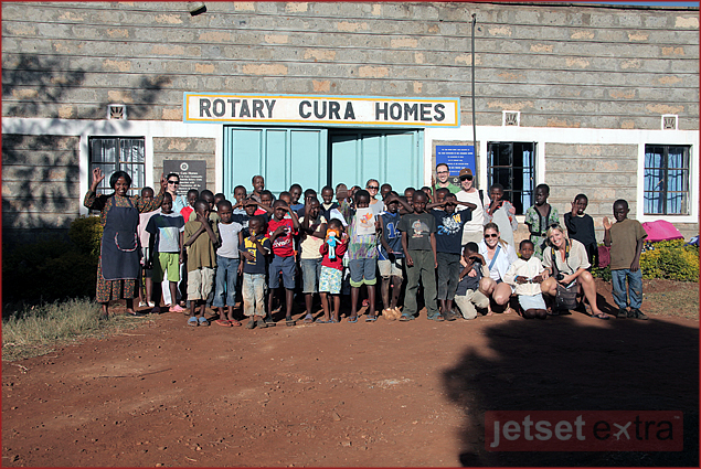 The children of Rotary Cura Orphanage