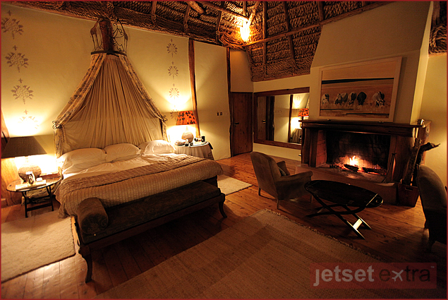 Our room at Laragai House on Borana Ranch