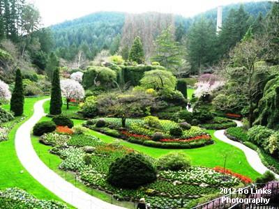 Lush Butchart Gardens