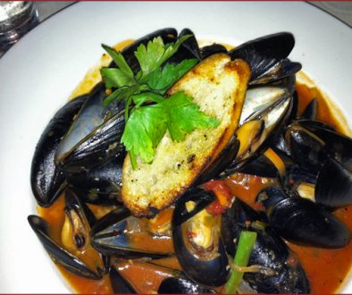 Mussels - Sauteed with garlic, white wine, onions, chillies, leeks and tomato