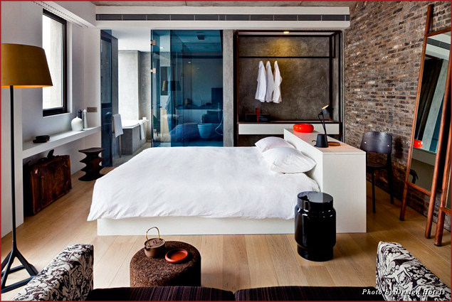 Bedroom suite at The Waterhouse at South Bund