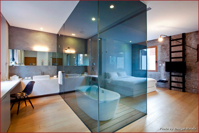 State of the art bathroom at The Waterhouse at South Bund