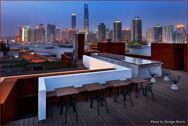 View of Shanghai at The Waterhouse at South Bund