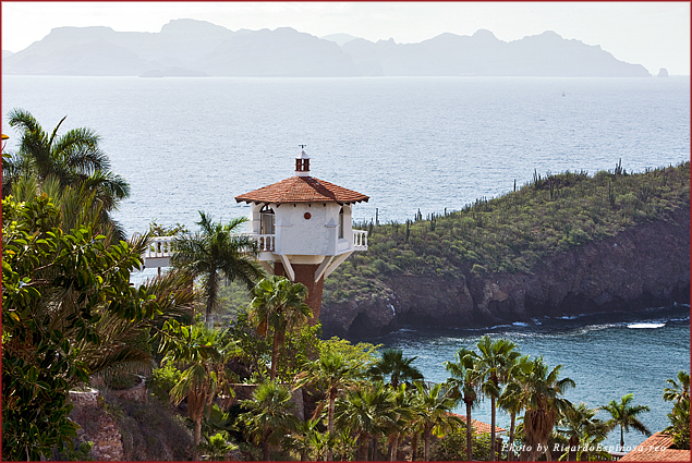A lookout over the Sea of Cortez in San Carlos, Sonora, Mexico