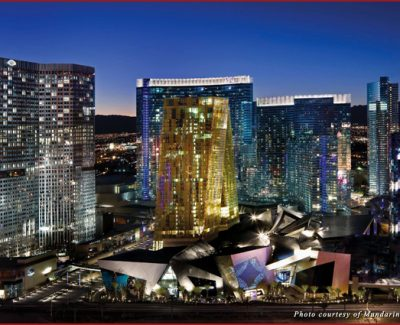 Las Vegas City Center at Night