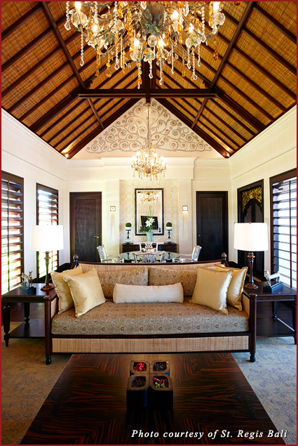 The Cloud Nine Villa at the St. Regis Bali