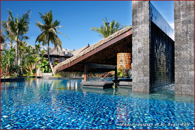 The Swimmable Lagoon Pool at the St. Regis Bali