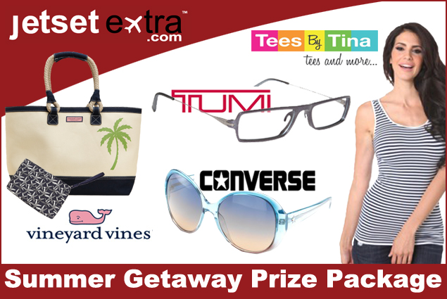 Jetset Extra's Summer Getaway Prize Package