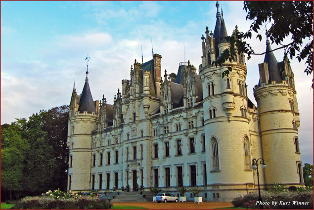 Chateau Challain - a dream in the French countryside