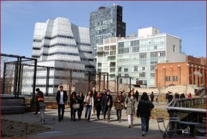 Visiting High Line in New York City