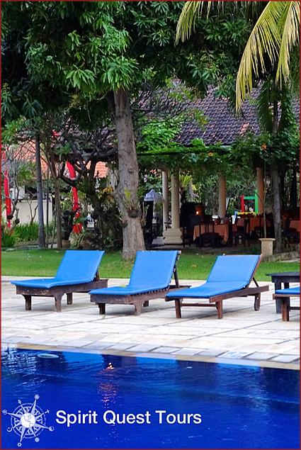 The pool at the Sunari