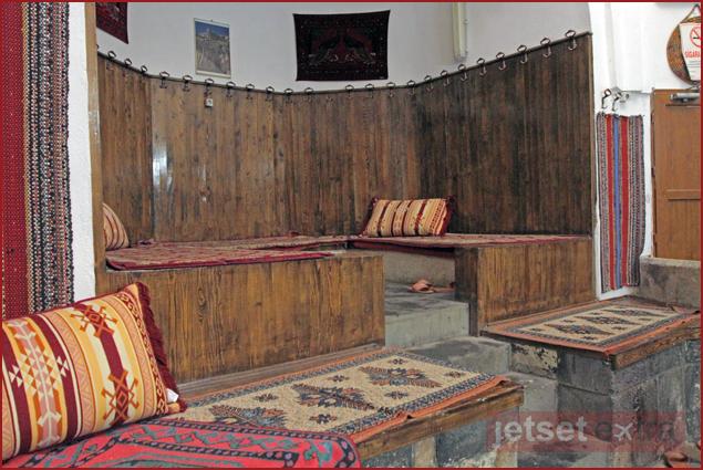 The interior of Emir Hamam, the oldest Turkish bath in Mardin