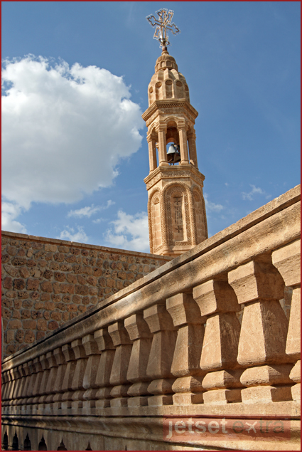 Mor Gabriel Monestary in Tur Abdin, Turkey
