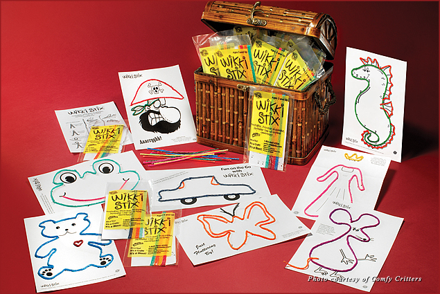 Wikki Stix are bendable, twistable, stackable toys that can keep kids entertained for hours