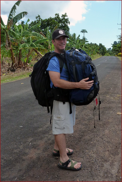 George carries a full load in Samoa