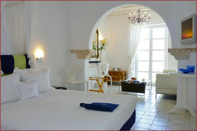 Stunning Kivotos hotel room