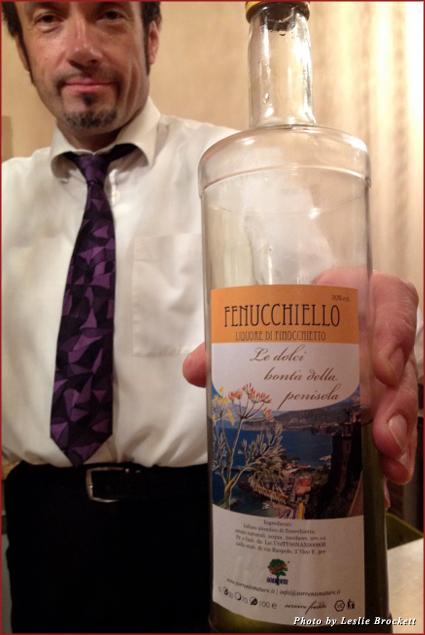 Chef Marcello of La Rocca in Lucignano