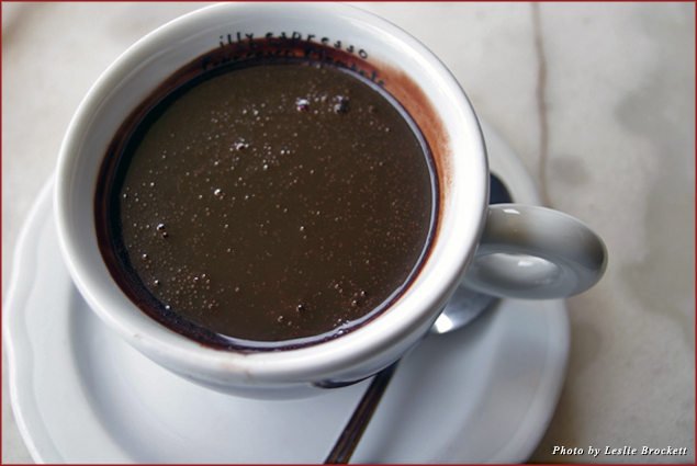 Hot Chocolate from Cafe Poliziano in Multipulciano