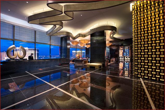 Sky Lobby at Mandarin Oriental, Las Vegas