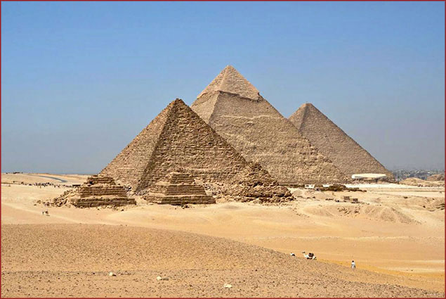 Visit the Pyramids of Egypt