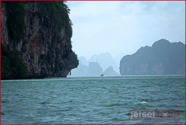 Heading into the islands of Phang Nga Bay