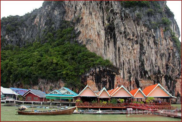 Panyee Island village