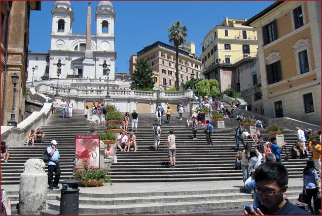 Spanish Steps - Stop: Spagna Line A