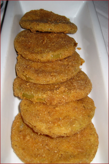 Try some southern hospitality on a plate with Martha's Fried Green Tomatoes