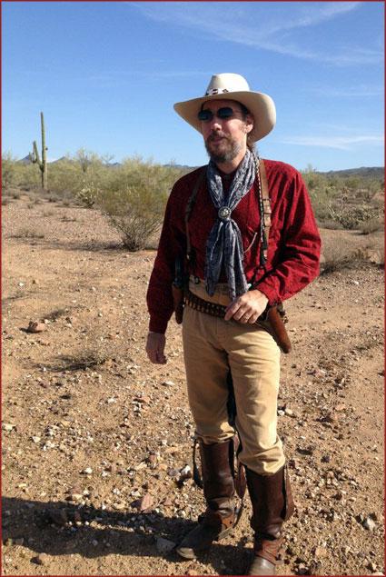 Walker Remington, a real-life cowboy