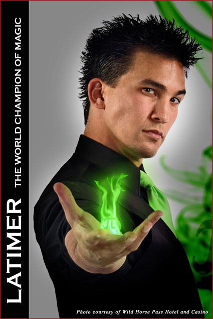 Illusionist Jason Latimer
