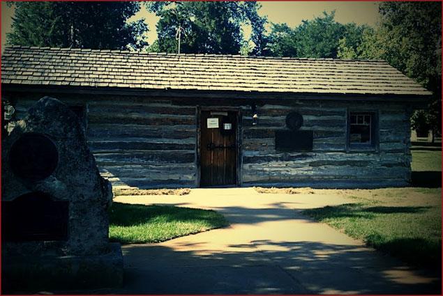 Original Pony Express station