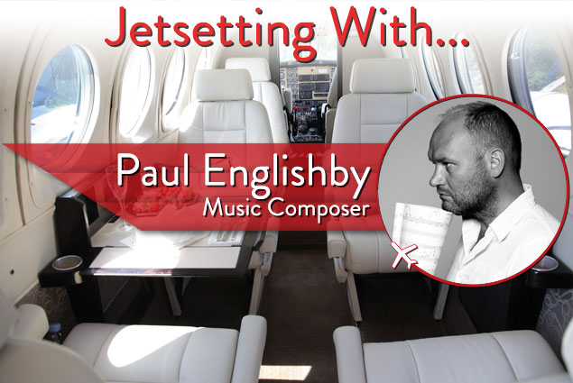 Jetsetting with Paul Englishby