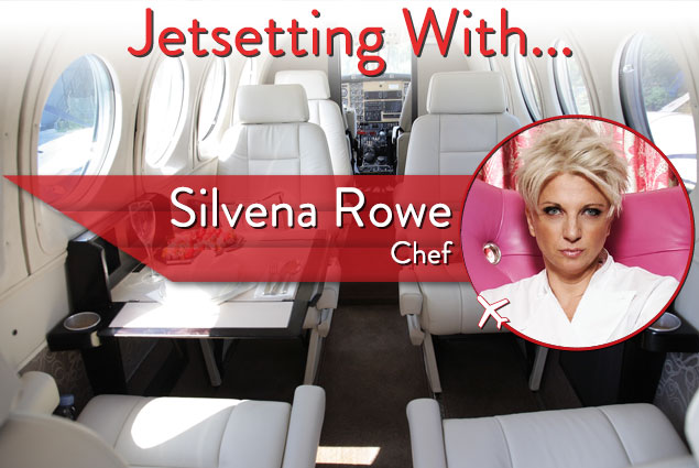 Jetsetting With Britain's Top Female Chef Silvena Rowe