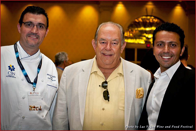 Chef Olivier Carlos, Robin Leach, and Alan Semsar are part of the Festival