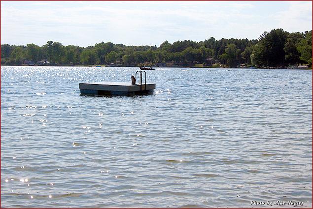 Wisconsin's uncrowded Kusel Lake