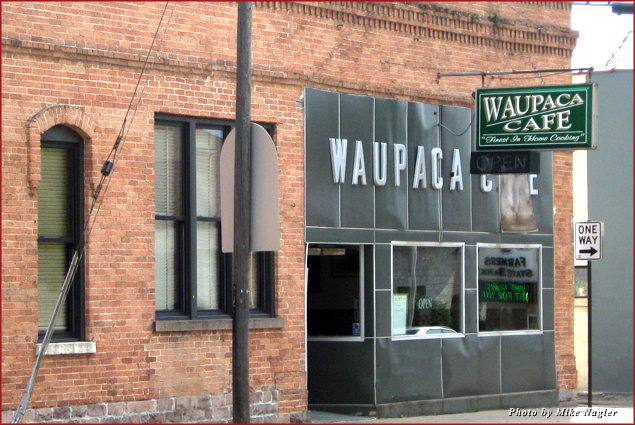 The newly remodeled Waupaca Café