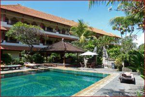 Pool at Bakung Sari Hotel, Kuta, Bali, Indonesia