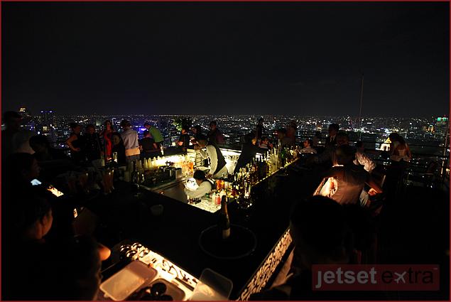 Banyan Tree Hotel, Vertigo rooftop restaurant and bar
