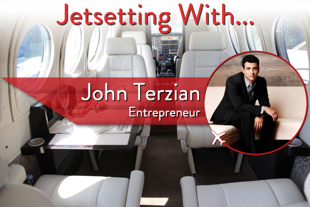 Jetsetting With The Force Behind L.A.'s Hot Nightspots John Terzian