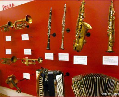 Polka display at MIM
