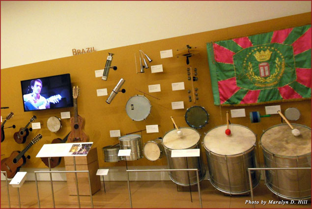 Brazilian musical instruments at MIM