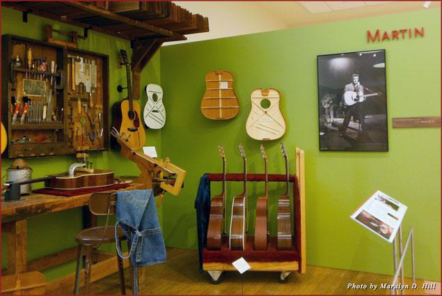 Martin Guitars at MIM