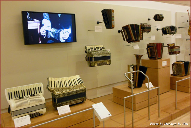 Accordions from different time periods