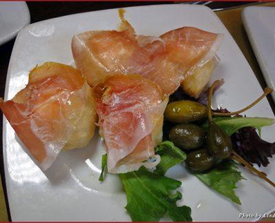 Antipasto platter from Operacaffe