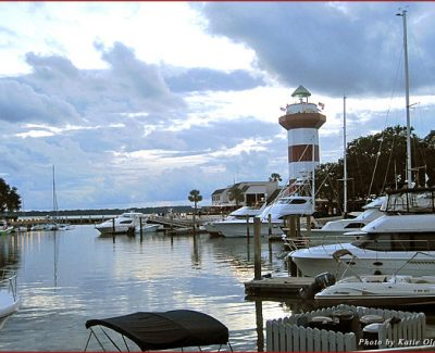 Harbour Town sits on the Sea Pines Resort and is home to some of the best eats and views on the Island