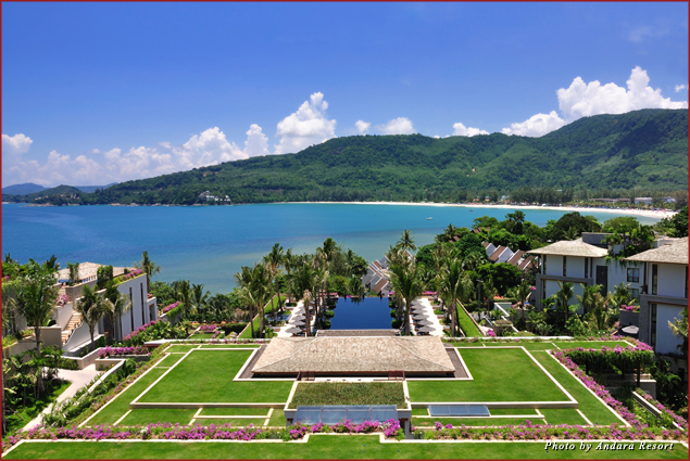 View of Andara Resort – Phuket, Thailand