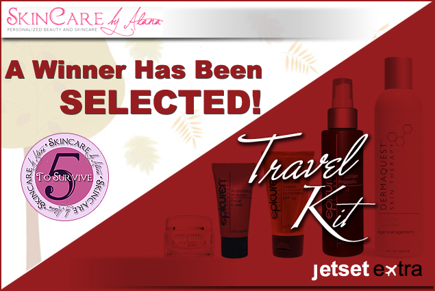 The wait is over - Jetset Extra has found a winner in the Skincare by Alana contest!