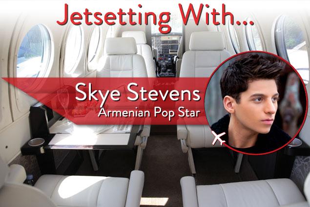 Jetsetting With Armenian Pop Star Skye Stevens